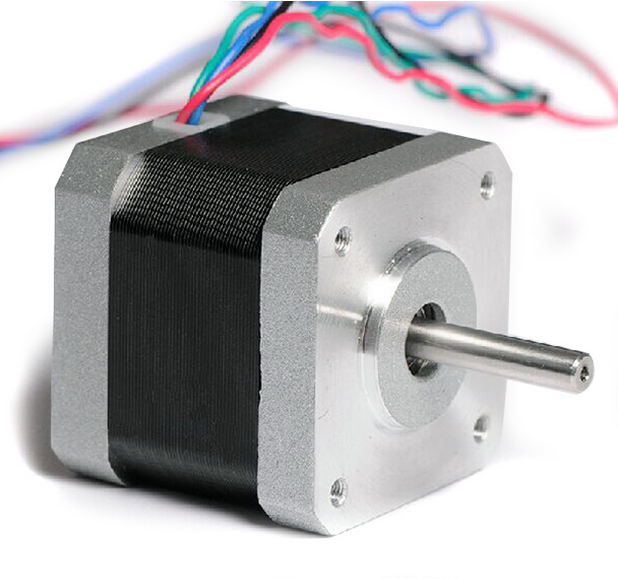 Small 42BYGHW609 stepper motor 1.7A 3D printer NEMA17 42H GHW stepper motor