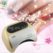 Nail infrared lamp wholesales 48W CCFL LED UV Lamp, UV Curing Lamp, 48 Watt UV Nail Lamp