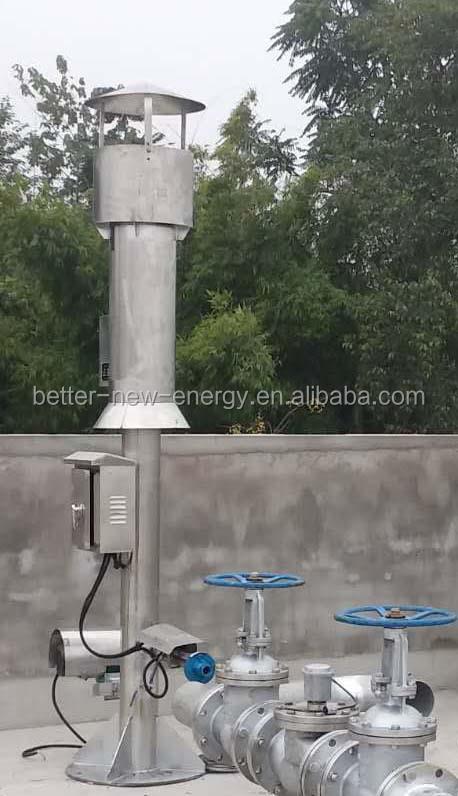 Biogas flare  biogas torch.jpg