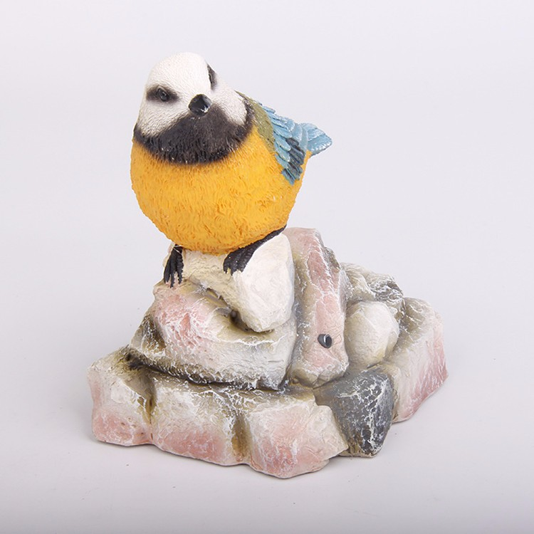 Custom folk craft home decor polystone vogel beeldje