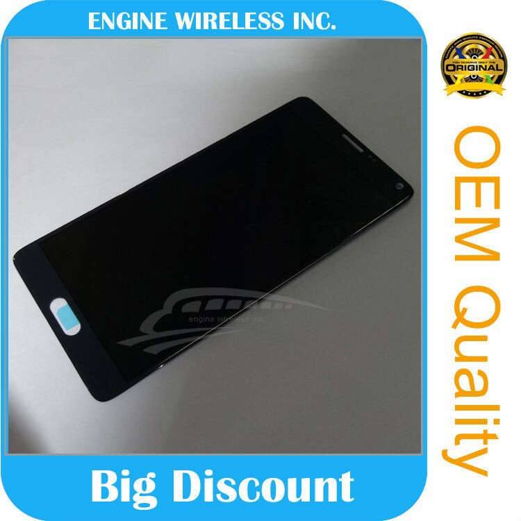AAA quality for samsung galaxy note 4 lcd touch screen digitizer display assembly