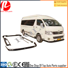 2010-2013 Japanese Toyota hiace whole car surrounded wide body 1880 bumper body kits 13 seats