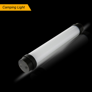 new shape essential camping gear portable rechargeable flashlight led camping light emergency kit power bank tent light