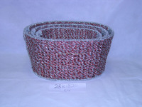plastic rope chistmas basket