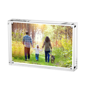 alibaba china online shopping 5x7 magnet clear acrylic photo frame