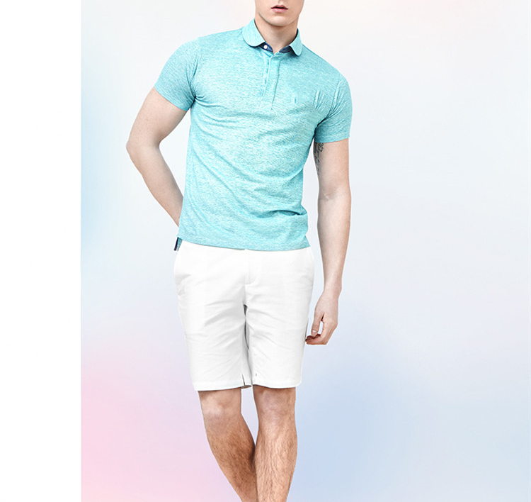 High quality bamboo fabric comfortable color new design t shirt polo shirt