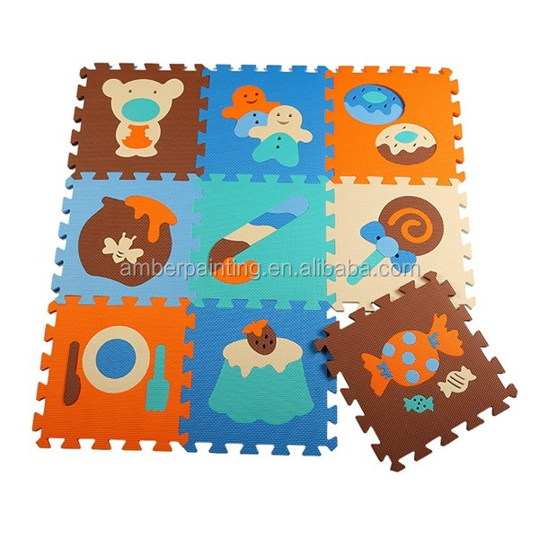 Non Toxic EVA Foam Mat Educational Tatami Puzzle Floor Mat