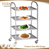 Service Equipment Stainless Steel 4 Tier