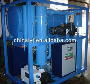 Model ZLS Double-stage High-Effective vacuum Transformer oil purifier machine