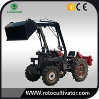 Front loader for 4 WD tractor