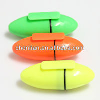 [Cixi factory] Non-toxic egg shape highlighter pen with good quality