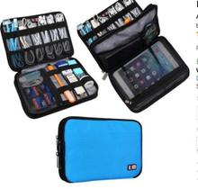 Double Layer Travel Gear Organizer / Electronics Accessories Bag