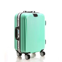 light weight promotion/gift fashional ABS+PC trolley luggage bag