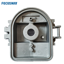 Aluminum alloy die cast distribution box shell with sand blasting