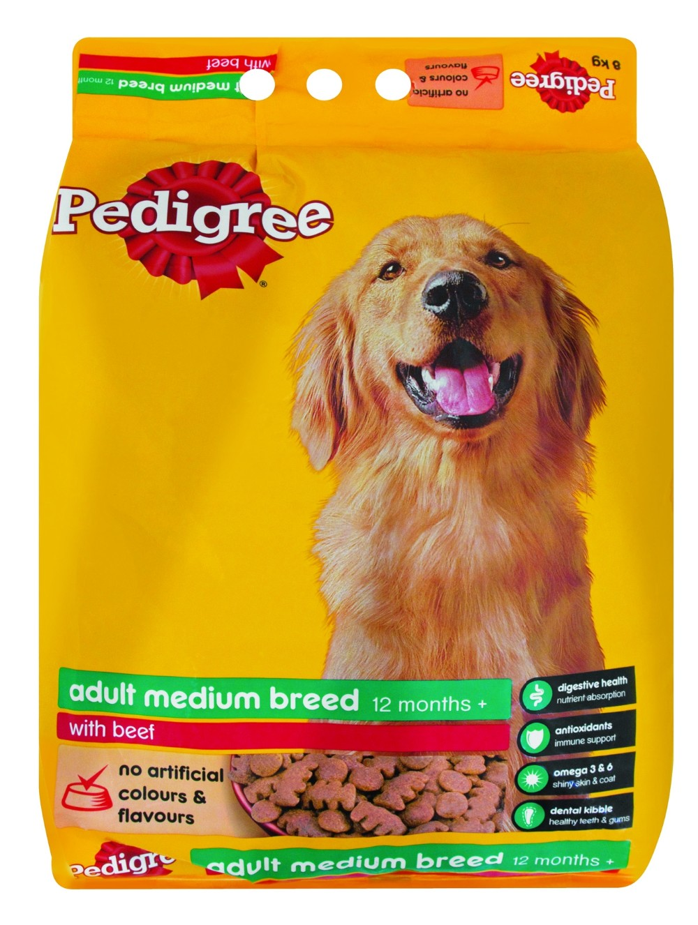 Colorful Packaging Limited plastic standing up dog food bags