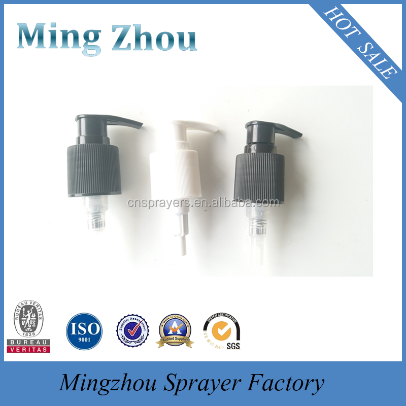 Free Sample Screw 28/415 lotion Pump for shampoo