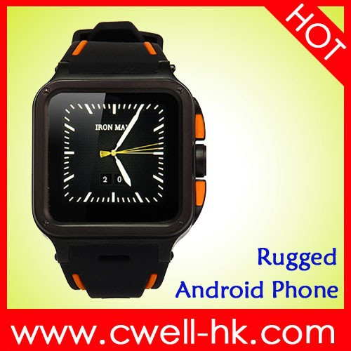 UNOVA IRON MAN Rugged Android Smart Watch Phone 1GB RAM/8GB ROM WIFI GPS