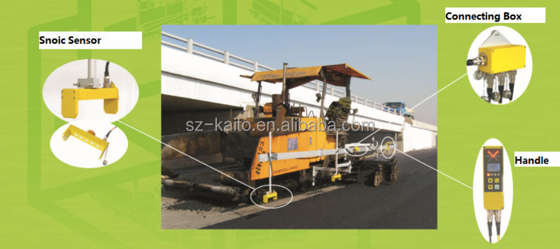 OEM Asphalt Paver Non-contact System Handle & Sensor