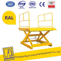 China supplier wholesale price ss stationary scissor lift table