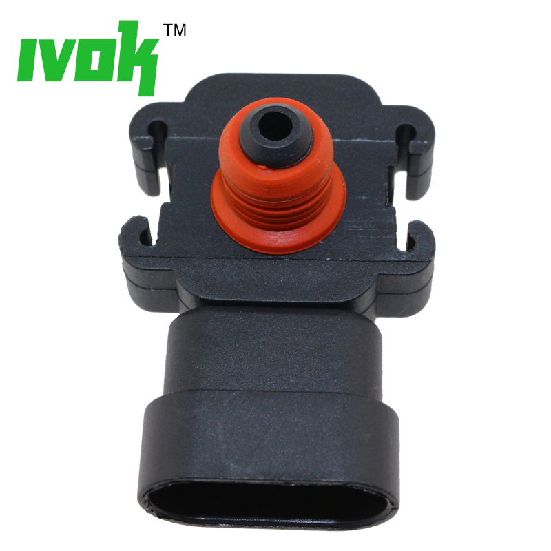 1Bar MAP Sensor For Chevy Impala K1500 K2500 K3500 Lumina Monte Carlo Pickup S10 Silverado Suburban Tahoe Trailblazer 4.8L 5.3L