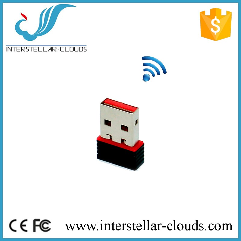 Ultra-Mini Nano USB 2.0 802.11n 150Mbps Wifi/WLAN Wireless Network Adapter