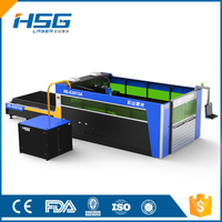 HSG 2000W IPG 10mm Fiber Laser Cutting Machine for Metal HS-G3015A