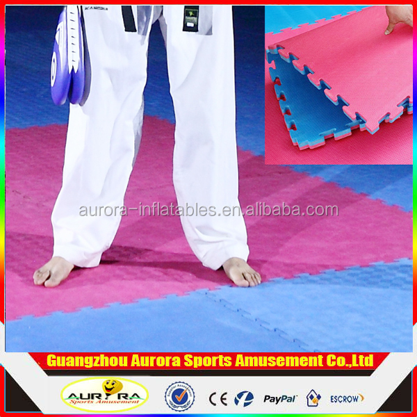 High Density Thickening Gym Dance Training Mats EVA Taekwondo Foam Mats Sports Wrestling Gymnastics Mats For Sale