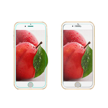 Hot selling 2.5D 0.3mm mobile phone tempered glass screen protector for iphone 6 6S 7