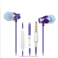 fashion In-ear colorful earphones for iphone /ipad