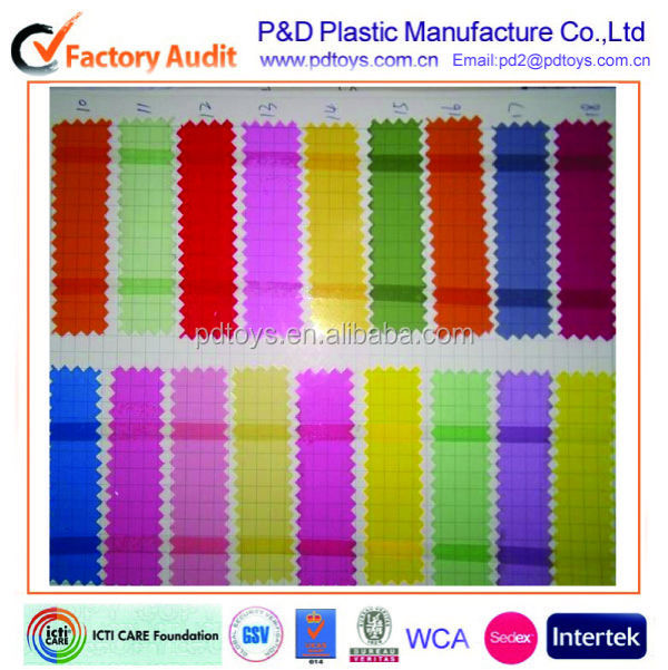 Custom Colors Phthalate free PVC Sheet for inflatable toys