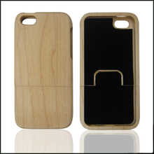 Cheap wholesale detachable mobile back cover,wooden phone case custom for iPhone5 5C