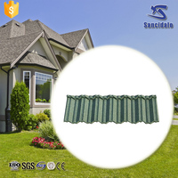 Factory price stone coated metal roof tile ghana with CE&ISO
