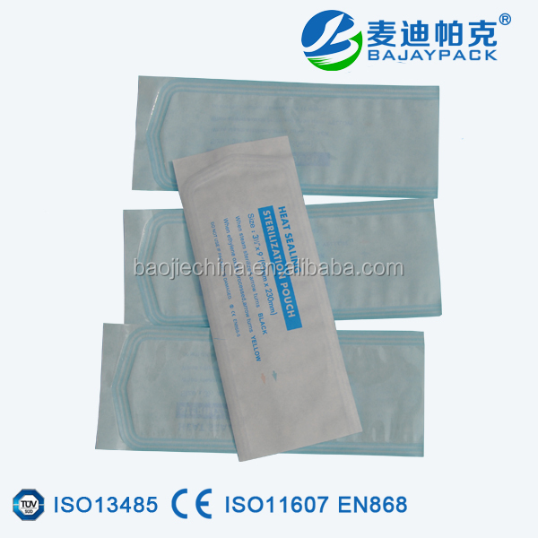 Medical Disposable Heat Seal Flat Sterilization Pouches