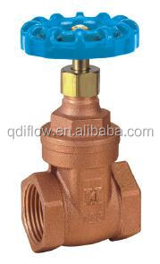 PN20 Wras Approved Bronze Non-Rising Stem Gate Valve (female THREADED)