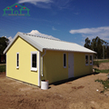 Low cost construction house fast assembling prefab villa