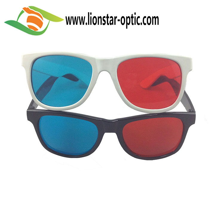 red cyan glasses for 3d movies,adults and children,for real d