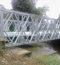 high quality portable steel bridge 18m price of bailey bridge