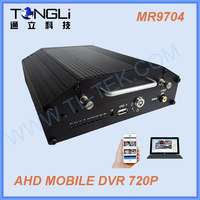 4 channel 720p HDD Mobile DVR