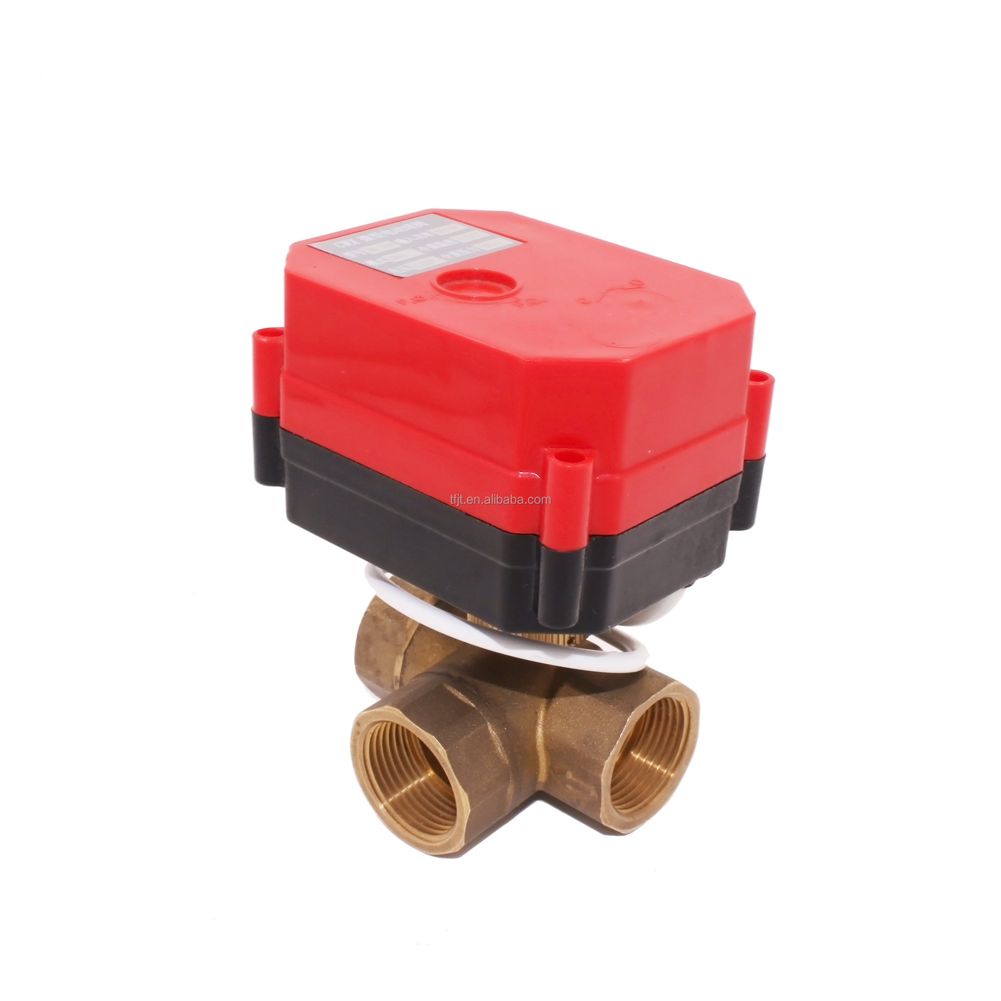 "cwx-60p 6nm electric ball valve DC3-6v ADC9-24v AC85-265v <strong>1</strong>/2 inch to 2"" for auto flow control equipment"