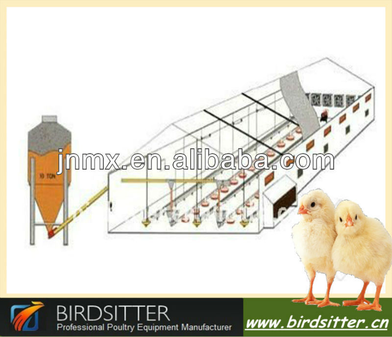 best sold high quality and inexpensive mechanized poultry feeding equipment