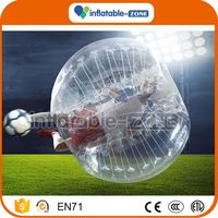 New arrival bubble soccer foam ball bubble soccer ball inflatable bubble soccer