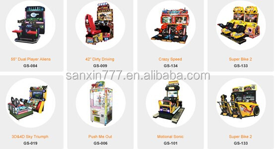 Kids coin operated game machine for sale