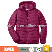 Lightweight snowboard jacket down jacket women