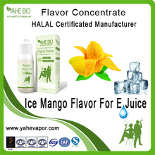 Popular tobacco flavor use in e liquid Ice mango fruit flavor concentrate flavor in PG/VG base