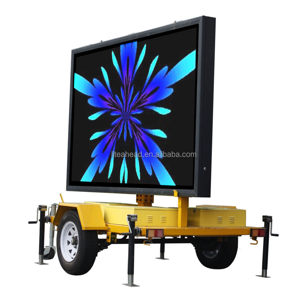 Mobile Trailer Screen P8 Adz