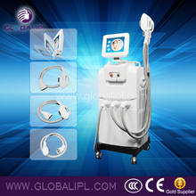 2016 Globalipl IPL/SHR machine Good effect beauty salon 2016 nm hair removal machine