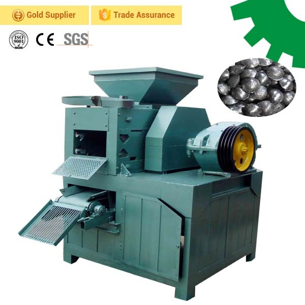 Factory price sawdust rice husk charcoal coal ball briquettes making uses briquette press machine