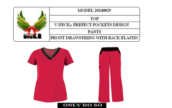 OEM-20140029 hospital uniform / medical scrub suits / scrub suit