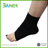 Elastic healthwear spandex logo printed ankle protection support