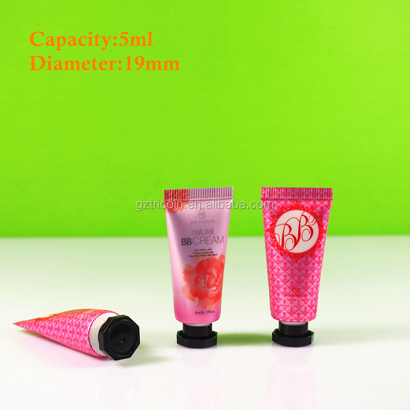 5g cosmetic hand cream <strong>tube</strong>